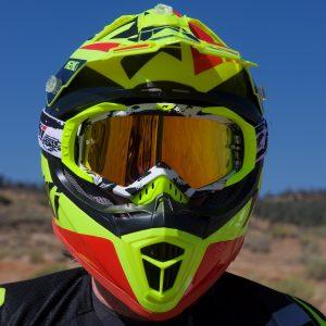Nenki NK-316 Dirt Bike Helmet test