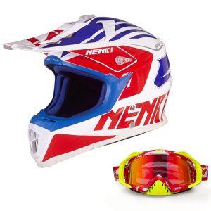 Nenki NK-316 Dirt Bike Helmet colors