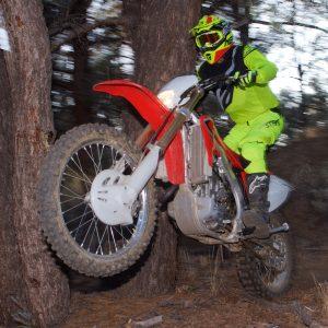 Nenki NK-316 Dirt Bike Helmet testing