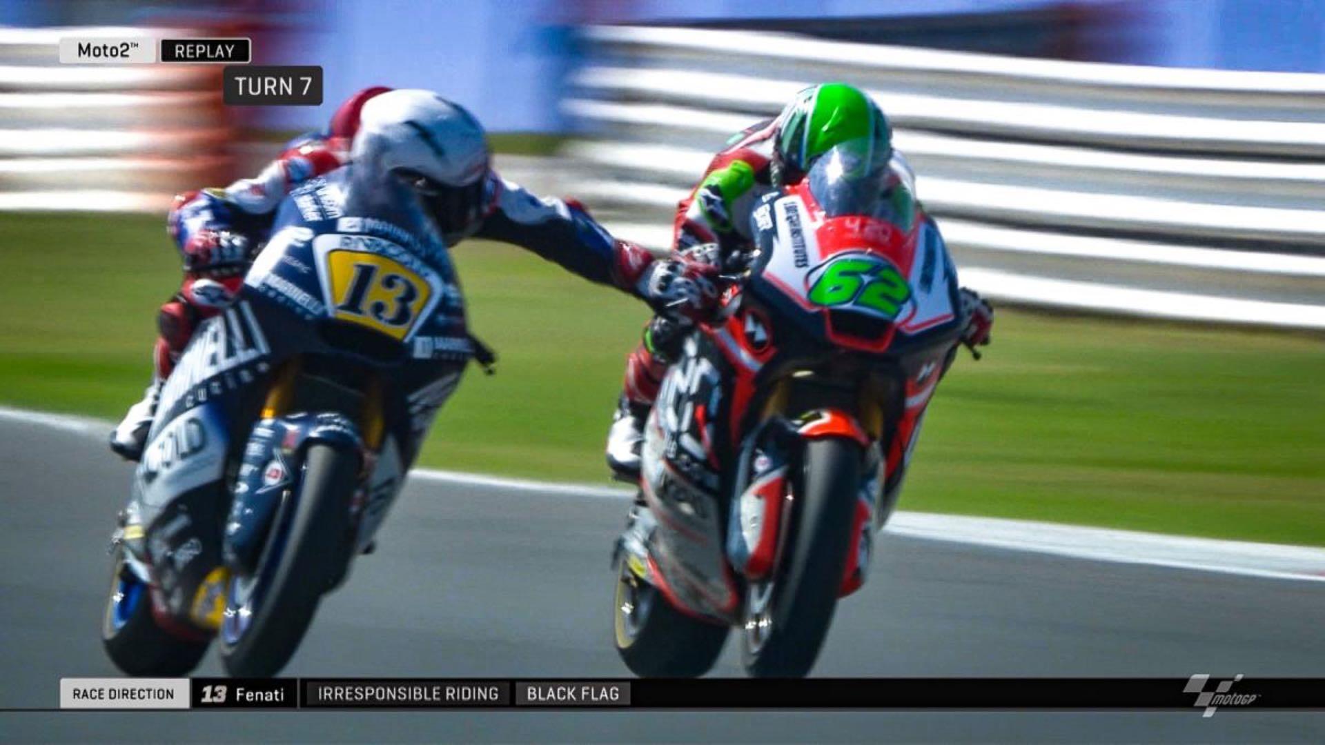 Romano Fenati Loses FIM Motorcycle Racing License
