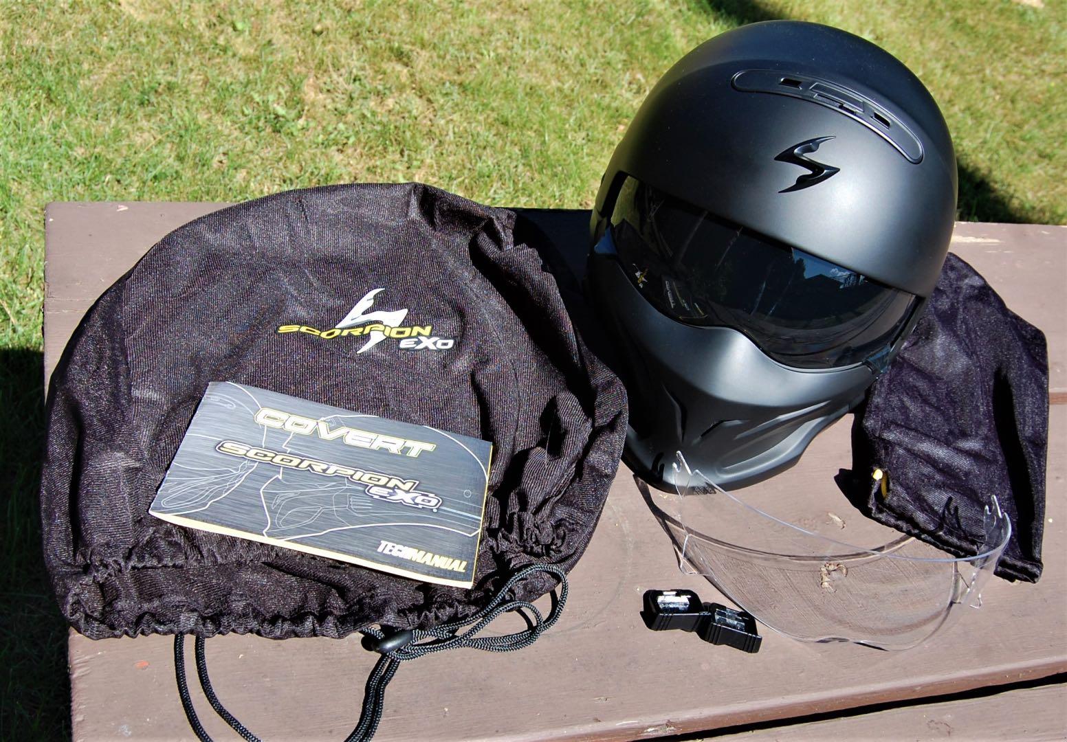Scorpion Covert 3-in-1 Helmet test