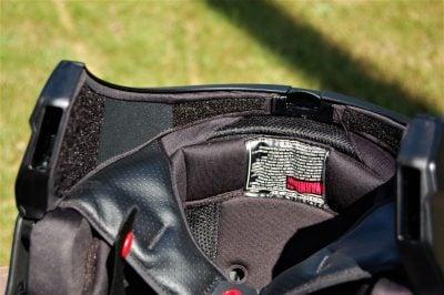 Scorpion Covert 3-in-1 Helmet interior