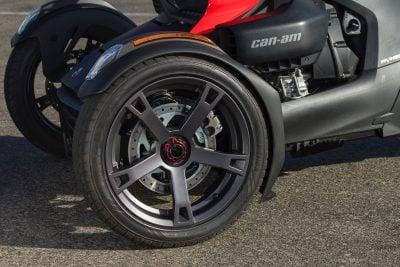 2019 Can-Am Ryker wheelie