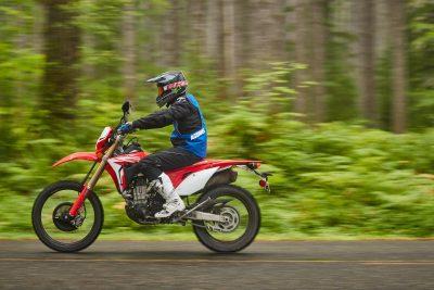 2019 Honda CRF450L street review