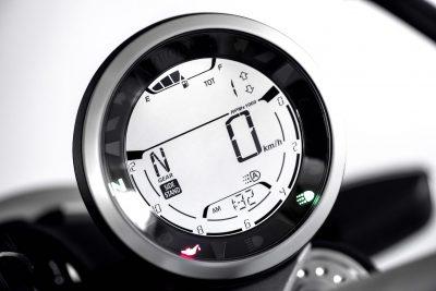 2019 Ducati Scrambler Icon fuel gauge