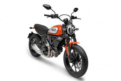 2019 Ducati Scrambler Icon tangerine color