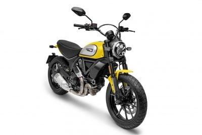 2019 Ducati Scrambler Icon yellow color