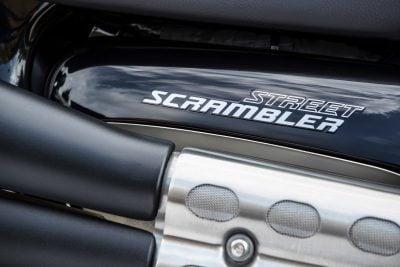 2019 Triumph Street Scrambler First Look logo