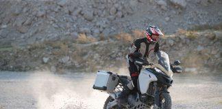 2019 Ducati Multistrada 1260 Enduro off roading