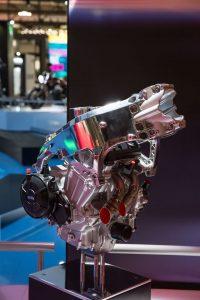 Aprilia Concept RS 660 chassis engine
