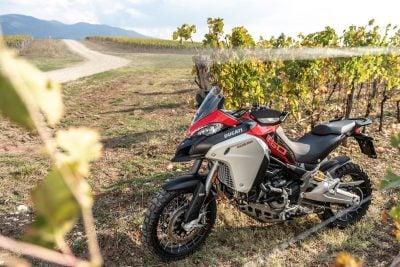 2019 Ducati Multistrada 1260 Enduro vineyards chianti