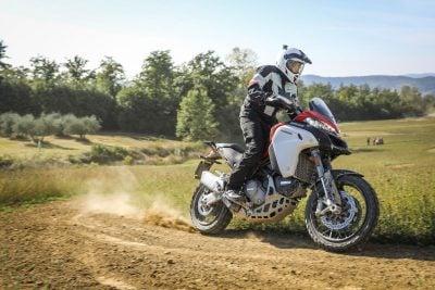 2019 Ducati Multistrada 1260 Enduro roost