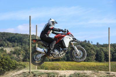 2019 Ducati Multistrada 1260 Enduro jump