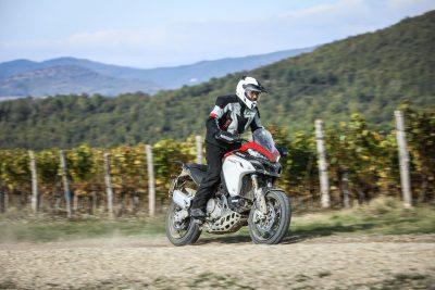 2019 Ducati Multistrada 1260 Enduro vineyards