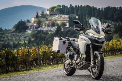 2019 Ducati Multistrada 1260 Enduro at castle