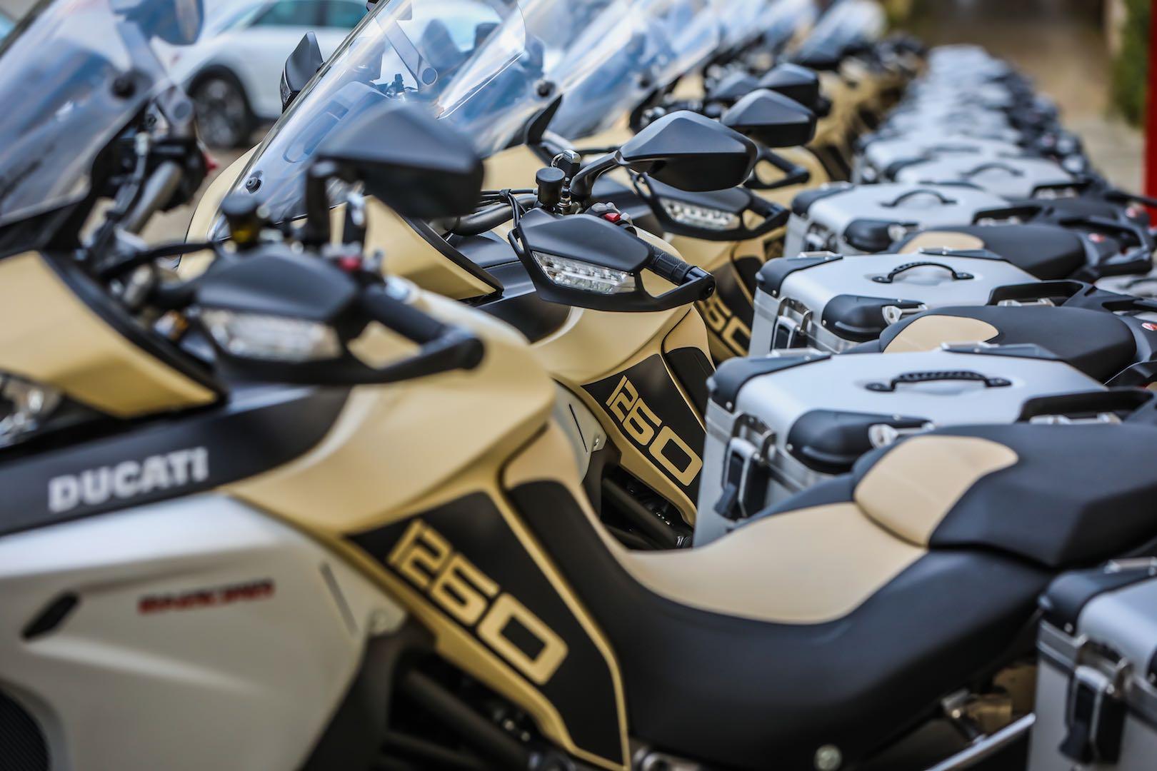 2019 Ducati Multistrada 1260 Enduro sand color