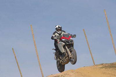 2019 Ducati Multistrada 1260 Enduro DRE Jump