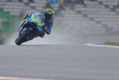 Valencia MotoGP Friday Practice Suzuki Andrea Iannone