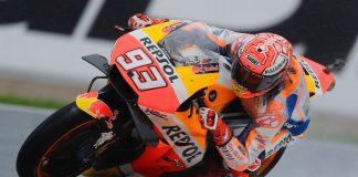 Valencia MotoGP Friday Practice Honda Marc Marquez
