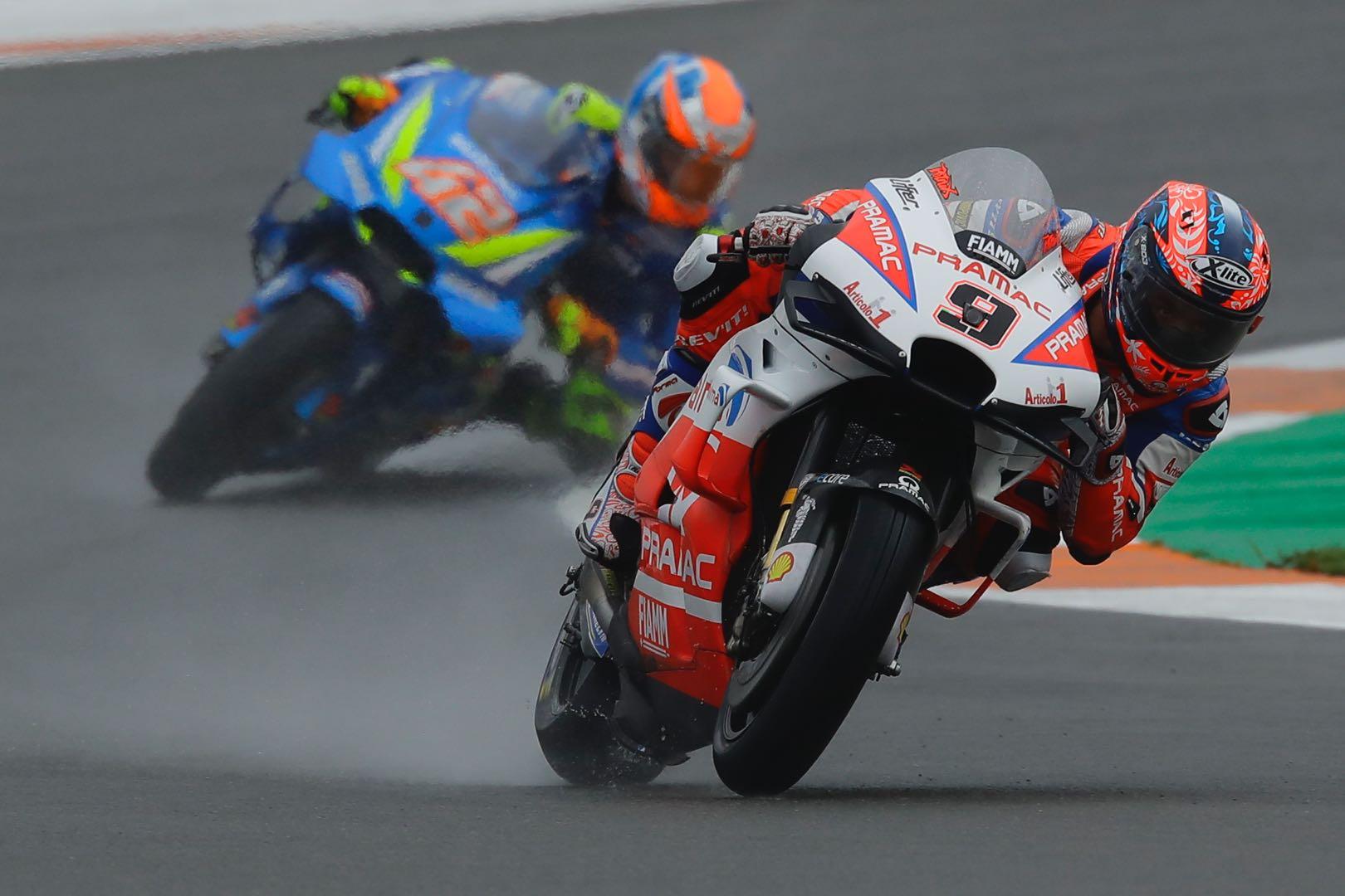 Valencia MotoGP Friday Practice Ducati's Danilo Petrucci