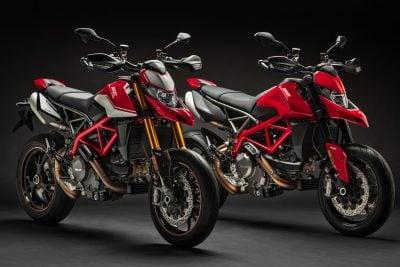 2019 Ducati Hypermotard 950 SP and 950