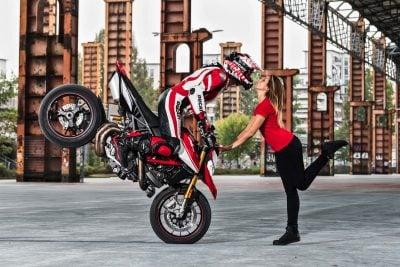2019 Ducati Hypermotard 950 SP Stunts