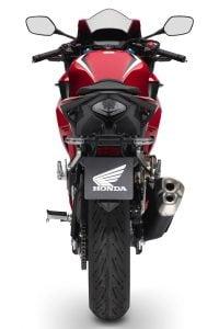 2019 Honda CBR500R tail
