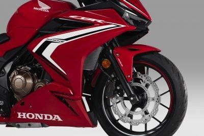 2019 Honda CBR500R front wheel