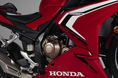 2019 Honda CBR500R engine