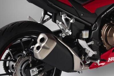 2019 Honda CBR500R passenger