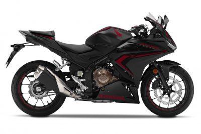 2019 Honda CBR500R black