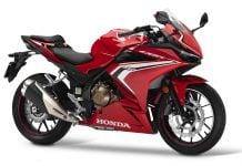 2019 Honda CBR500R red