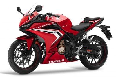 2019 Honda CBR500R seat height