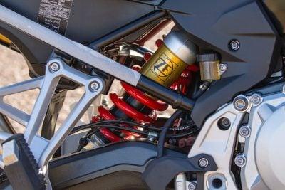 2019 BMW F 850 GS rear suspension