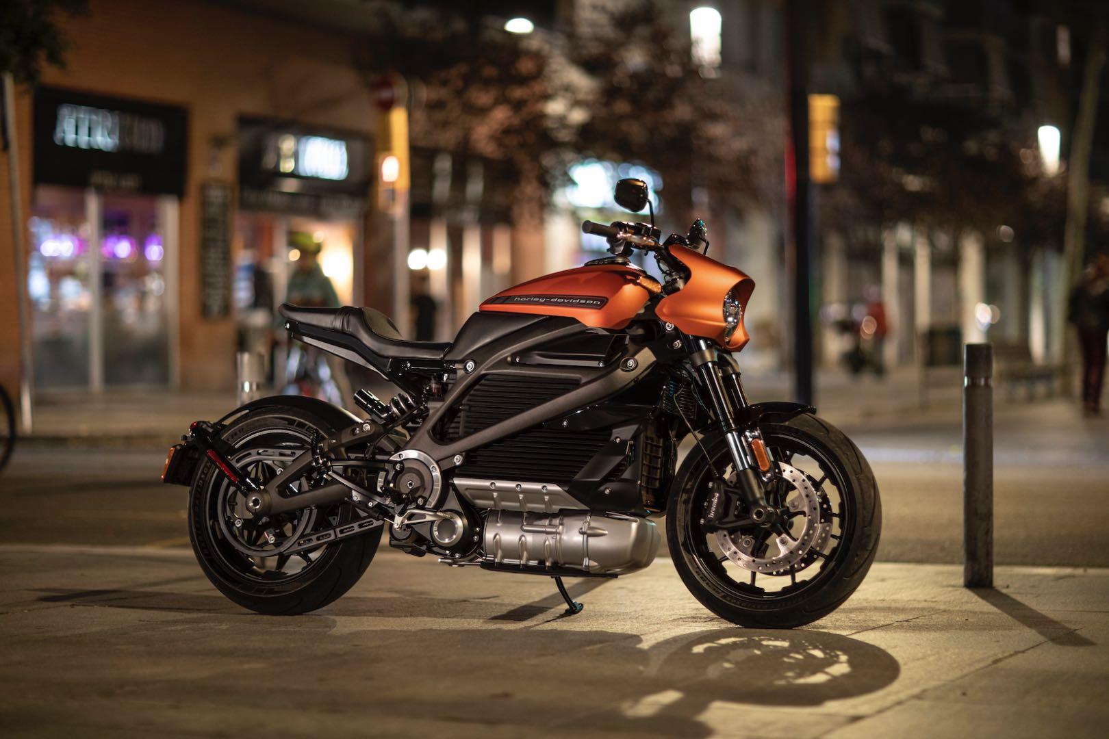 Deze elektrische Harley-Davidson 'LiveWire' mag er best wezen!