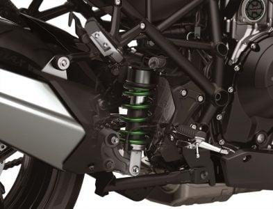 2019 Kawasaki H2 SX SE+ electronic suspension