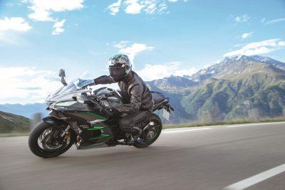 2019 Kawasaki H2 SX SE+ top speed