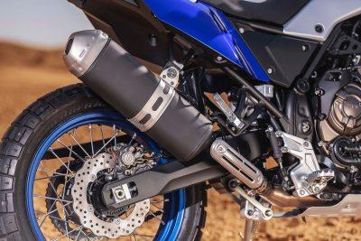 2021 Yamaha Ténéré 700 exhaust