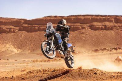 2021 Yamaha Ténéré 700 wheelie