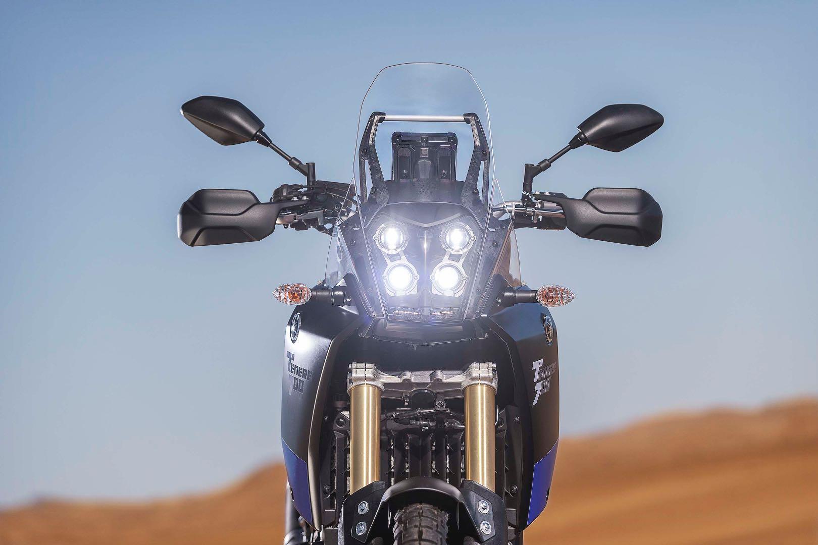 2021 Yamaha Ténéré 700 LED headlights