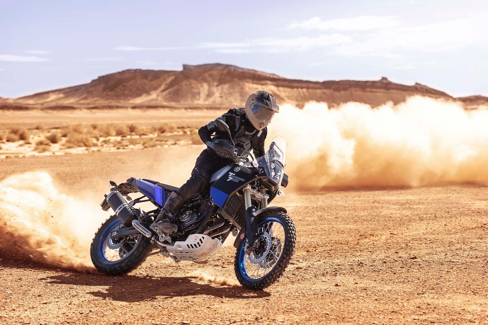 2021 Yamaha Ténéré 700 dirt test