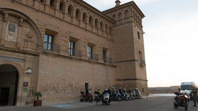 Riding Spain's Pyrenees & Aragón Circuit with Leod Escapes Alcaniz Parador