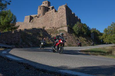 Riding Spain's Pyrenees & Aragón Circuit with Leod Escapes Cardona Castle