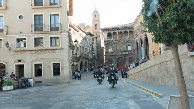 Riding Spain's Pyrenees & Aragón Circuit with Leod Escapes Downtown Alcaniz