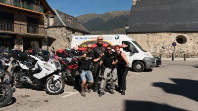 Riding Spain's Pyrenees & Aragón Circuit with Leod Escapes Tour Guides