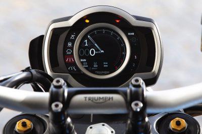 2019 Triumph Scrambler 1200 XC gauges