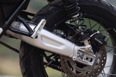 2019 Triumph Scrambler 1200 XC rear supsension