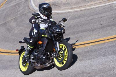 2018 Yamaha MT-09 MSRP