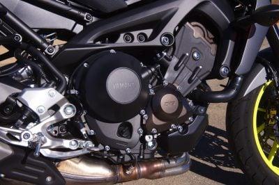 2018 Yamaha MT-09 engine horsepower