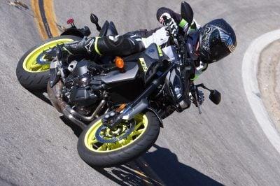 2018 Yamaha MT-09 test